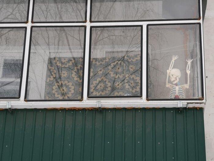 Балконы с изюминкой Юмор