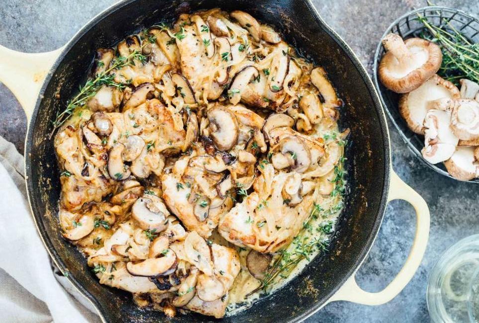Курица с луком на сковороде: рецепт и советы по приготовлению Кулинария