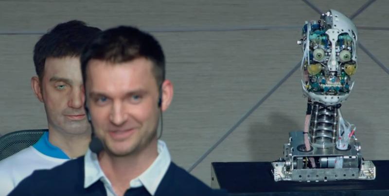 Выпуск новостей на федеральном канале провёл пермский робот Алекс наука