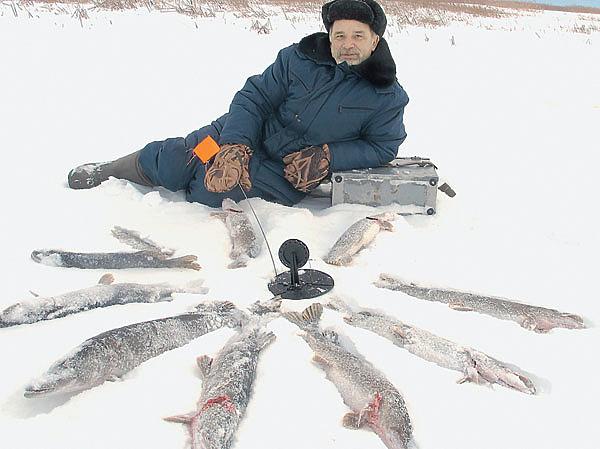 Зимняя элегия — Веселовское водохранилище Охота и рыбалка