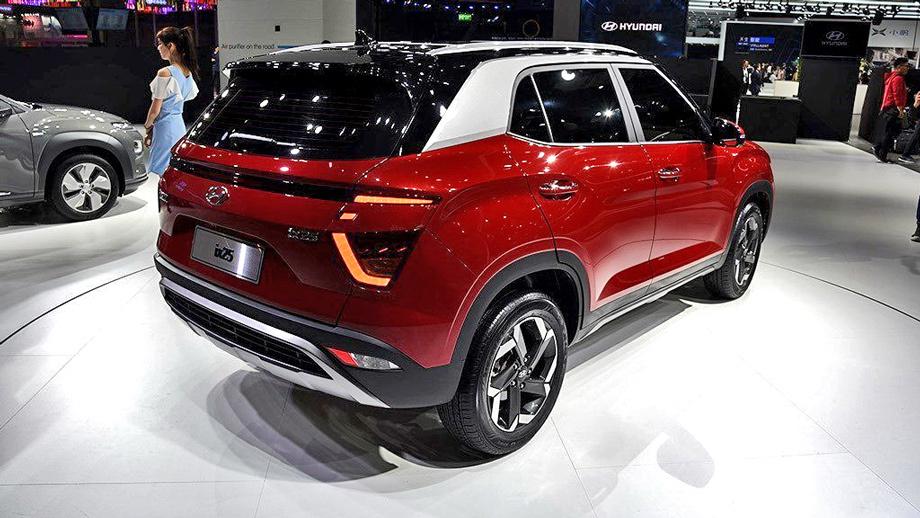 Китайская версия модели Hyundai Creta сменила поколение Авто и мото