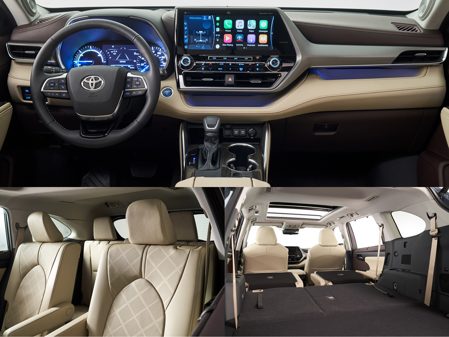 Кроссовер Toyota Highlander улучшился на новой платформе Авто и мото