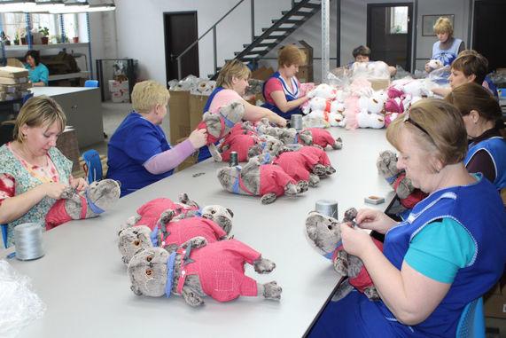 Фабрика по производству мягких игрушек ООО «Можайская промышленная площадка» запустила новую линию события,Новости,сделано у нас