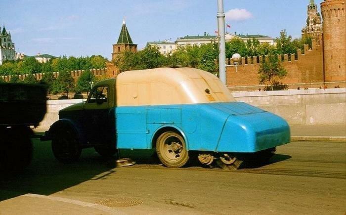 Цветные снимки Москвы 50-х годов История,ссср