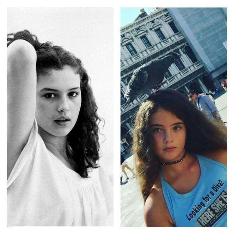 14-летняя дочь Моники Беллуччи и Венсана Касселя почти догнала маму по красоте Искусство