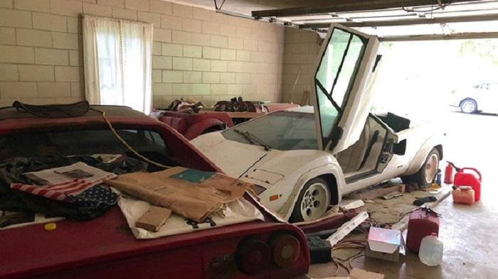 Приехал в гости к бабушке и зашел в гараж: мужчина обнаружил редкий и дорогой Lamborghini Интересное