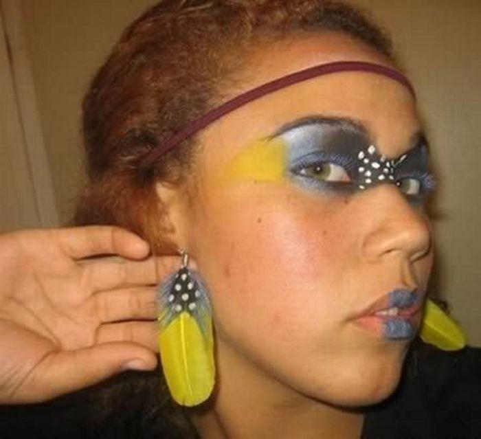 10+ красоток из сети, которые откровенно переборщили с макияжем! Приколы,девушки,макияж,неудачи,фейлы
