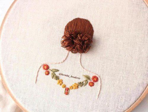 3D-вышивка от Берниты Бродери вышивка,идеи,рукоделие