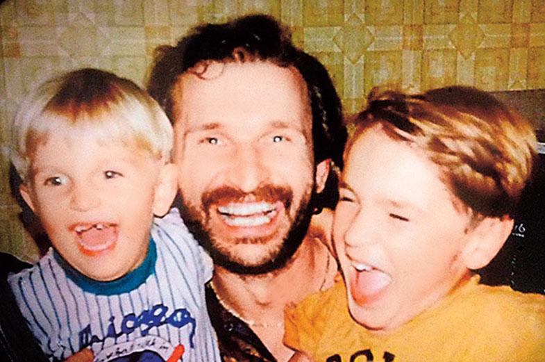 Федор Добронравов с сыновьями актер,красота,наши звезды,Федор Добронравов,фильм,фото,шоу,шоубиz,шоубиз