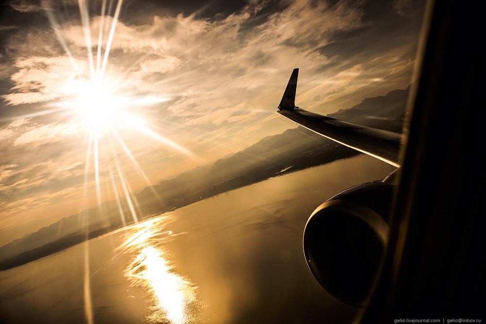 Линия перемены дат. Перелёт с Камчатки на Аляску через Тихий океан Аляска,путешествия,Россия,США,фоторепортаж