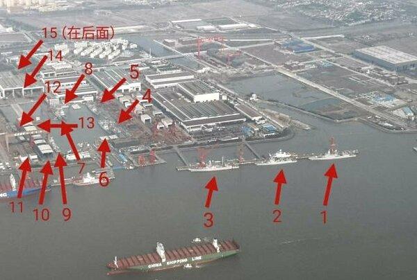 Китай строит военные корабли рекордными темпами новости,события