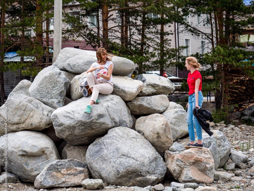 Каменная река в Аршене, Бурятия Бурятия,история,катастрофы,природа,реки,Россия