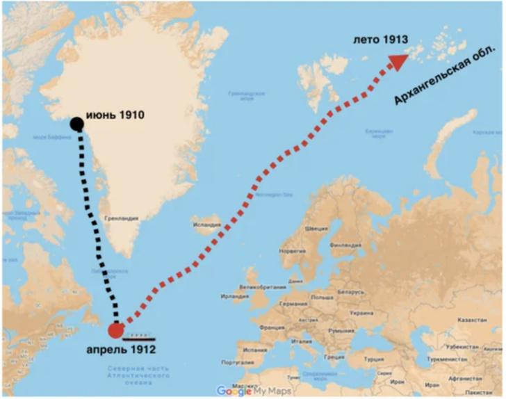 Убийца «Титаника» спрятался в России, или Что стало с айсбергом, утопившим знаменитый корабль доказательства,загадки,история,спорные вопросы