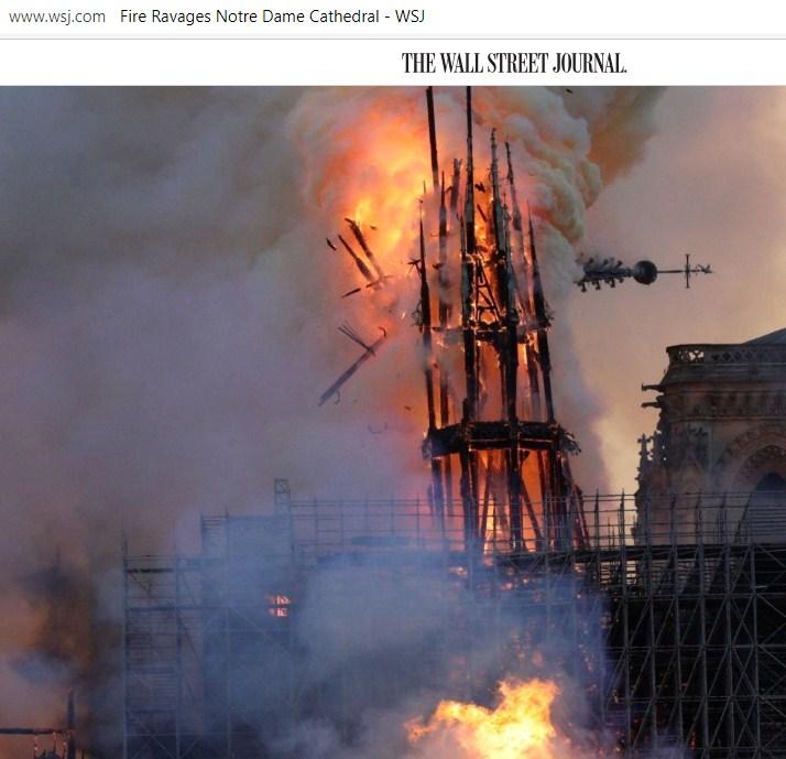 Владимир Карасёв: Реакция американцев на французский пожар шокирует западные СМИ новости,события,в мире